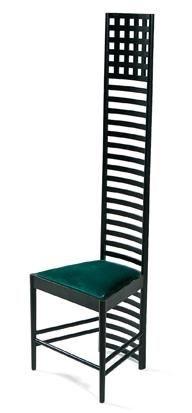 hillhouse chair by charles rennie mackintosh