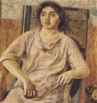 josefina in the rocking chair by antonio lópez garcía