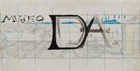 maqueta para panel publicitario del museo figueras by salvador dalí