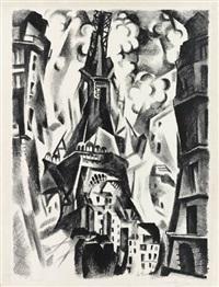 la tour by robert delaunay