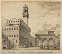 palazzo pitti detto palazzo vecchio in firenze by simon quaglio