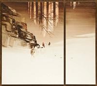 cavaliers dans la neige by michael atkinson