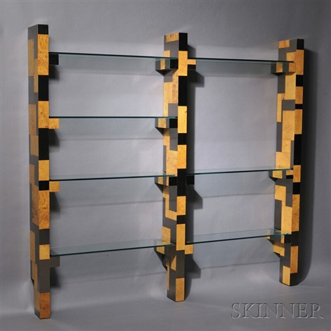 cityscape etagere by paul evans
