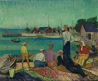 fiskeläge by gunnar torhamn