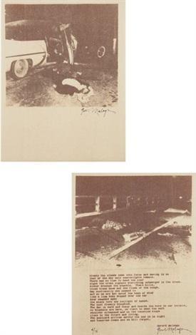 thermofax portfolio of 8 by gerard malanga