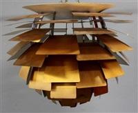 artichoke chandelier by poul henningsen