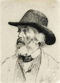 portrait of thomas carlyle by walter greaves
