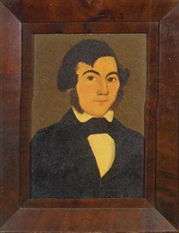 portrait of a. allen by william w. kennedy