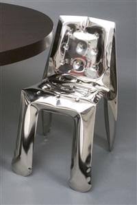 chippensteel chair inox by oskar zieta
