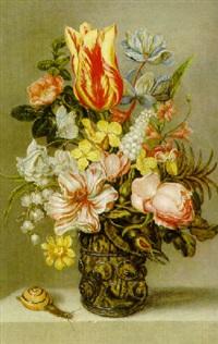 blomsterstilleben by johannes bosschaert