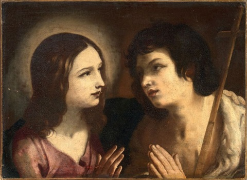 gesù e san giovanni battista by guido reni
