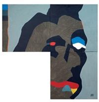 boccalunga (triptych) by fabio de poli