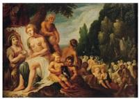 moïse frappant le rocher by jacob symonsz pynas