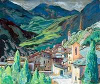 italiaans bergdorp by dirk filarski