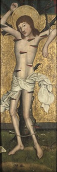 saint sebastian by german school-cologne (16)