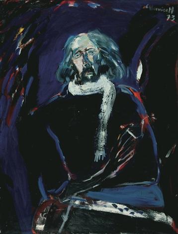 zelfportret by godfried vervisch