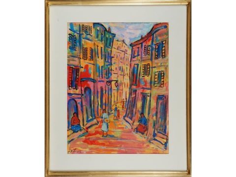 rue en provence by nathan gutman
