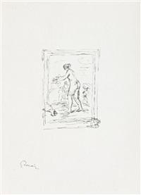 femme au cep de vigne by pierre-auguste renoir