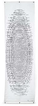 textteppich by ferdinand kriwet