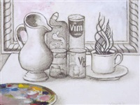 unfinished still life by don campbell
