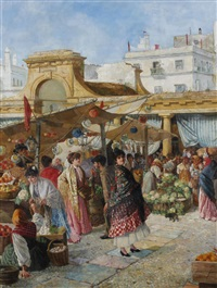 at the mercado publico, cadiz by adolfo aguila y acosta