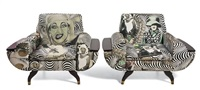 armchairs (pair) by steven cohen