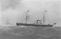 the steam yacht