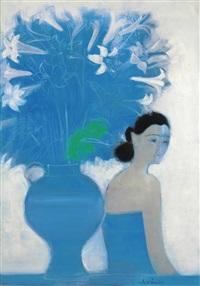 bouquet bleu by andré brasilier