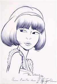 yoko tsuno, splendide illustration by roger leloup