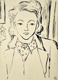 retrato da mãe do pintor (série família) by júlio reis pereira