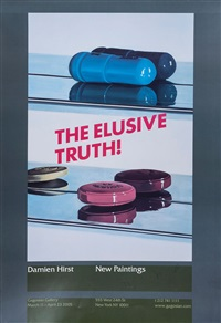 the elusive truth (set of 3) by damien hirst
