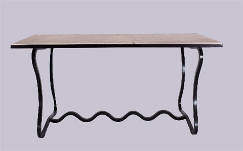 console table dit trèfle by jean royère