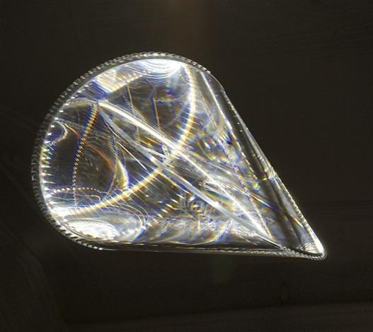 hommage to p schatz deckenlampe im form eines oloids by olafur eliasson