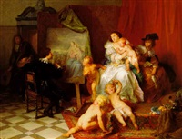 l'atelier de rubens by alexandre markelbach
