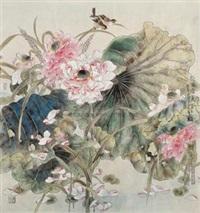 荷塘清夏 by liang shimin