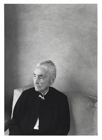 georgia o'keeffe by william clift