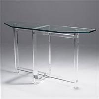 console table by les prismatiques