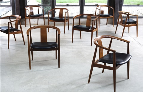 EIGHT CHINESE CHAIRS By Tove And Edvard Kindt Larsen On Artnet