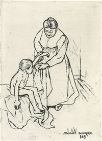 (nurse and child) by suzanne valadon