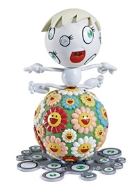 mr. wink/cosmos ball by takashi murakami