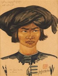 portrait d'un jeune homme by léa (madame) lafugie