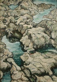 rocky pools by alfred janes
