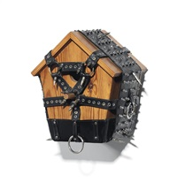 birdhouse #5 by wim delvoye
