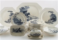 part dinner service (83 works) by wedgwood
