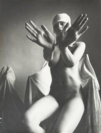 nus et fauteuils drapés (6 works) by karin szekessy