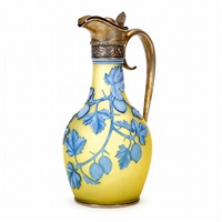 tree nuts pitcher by thomas webb and sons (co.)