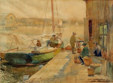 on the pier by arthur j beaumont