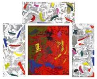 utan titel - fyra delar (4 works) by johan scott