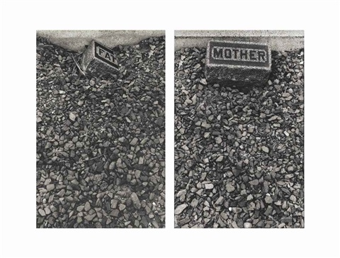 father mother the graves 25 2 parts by sophie calle