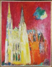 cathedrale de chartres by bernard lorjou